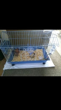 white and blue pet cage Sacramento, 95823