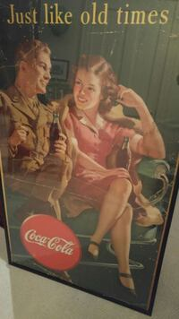 1942 Collectible Coca-Cola Poster Pittsburgh, 15212