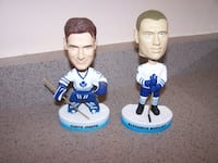 2 TORONTO MAPLE LEAFS UPPER DECK BOBBLEHEADS Vaughan