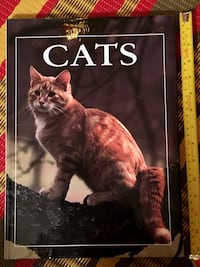 Cats coffee table hardcover book