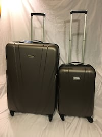 Brand New Samsonite 2-piece luggage set in Charcoal Gray
