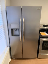 Brand New Stainless Steel Side by Side Refrigerator Falls Church