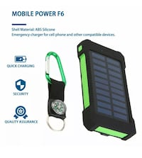 Water proof Solar power bank
