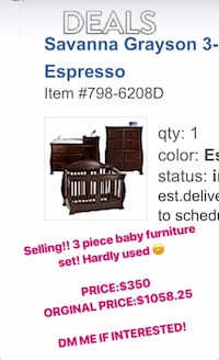 Black and brown wooden bed frame screenshot Reston, 20190