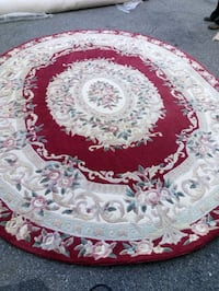 Large heavy oval carpet Washington, 20018