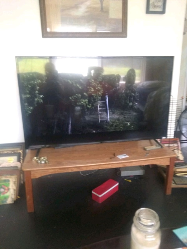 55 inch element smart TV  With remote