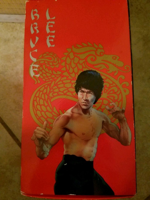 Used Bruce Lee Box Set - VHS - 4 Movies for sale in Lexington - letgo