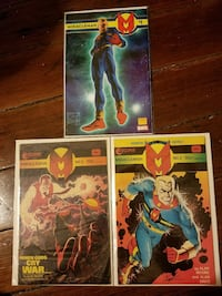 Lot of Miracleman comics by Alan Moore