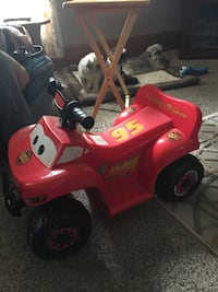 Disney Lightning McQueen ride-on toy St. Joseph charter township, 49085