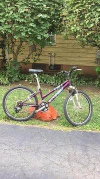 red and black hardtail mountain bike Elgin, 60120