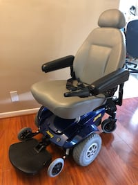 black and blue electric wheelchair North Potomac, 20878