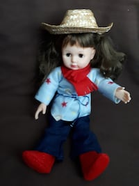 Doll clothes, cowgirl 18 inch Nanaimo