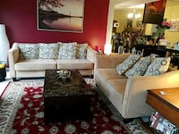 Cream Colored Living Room Set (in super shape) Gaithersburg, 20879