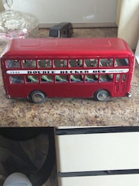 Tin Double Decker Bus Pensacola, 32505