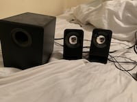 computer speakers with subwoofer  Richmond, V6X