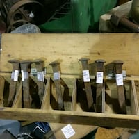Railroad spikes priced each Booth R323 Roadshow  Innisfil, L9S 3V9