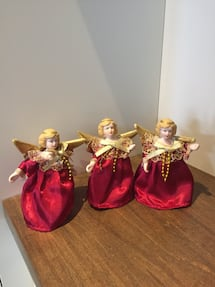 Angel Christmas ornaments