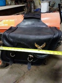 Universal Throw Over Saddle Bags for a Motorcycle