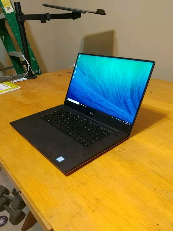 "Dell XPS 9550, a 15"" laptop"