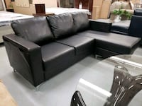 Modern sectional with reversable chaise on sale  Toronto, M9W 1P6