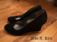 Suede wedges Montreal, H1R 1R3