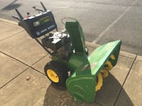 John Deere 1032D Snow Blower Thrower 2-Stage Tecumseh 10HP 2 Available Woodbridge