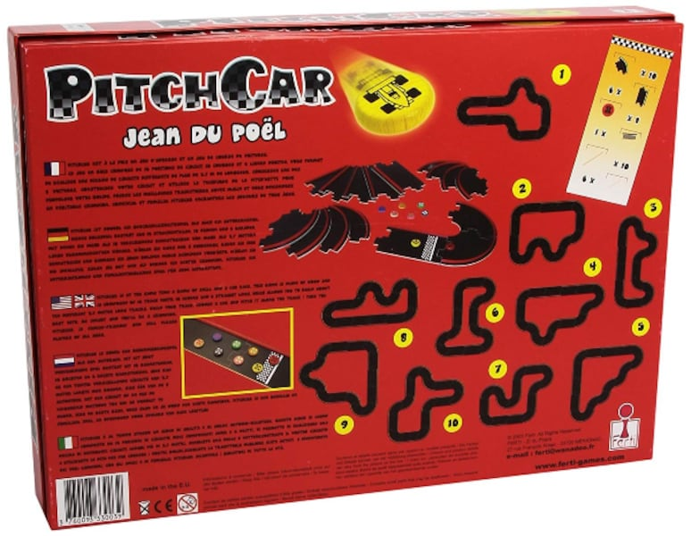 Board game: PitchCar 2
