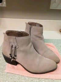 Ladies' sz 8 suede leather booties City of Manassas, 20109