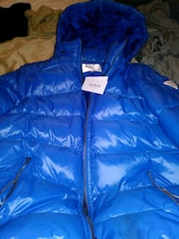 blue zip-up bubble jacket Winnipeg, R2Y 1V2