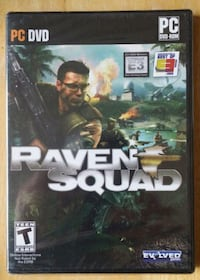 NEW Raven Squad PC DVD PC DVD Rom   produced by Robert Kennedy - copyright 2004 Canusa Products Prime Time Video Production services (several copies are available)  Pick-up in PETERBOROUGH at Fowlers Corners at Coffee Time located at Highway 7 and Frank H Newmarket