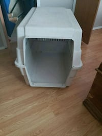 white and gray pet carrier Hudson, 34667