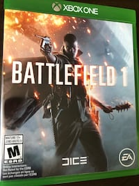 XBOX ONE. BATTLEFIELD 1.Like New.Pick up Gastown please. Vancouver, V6A 1G2