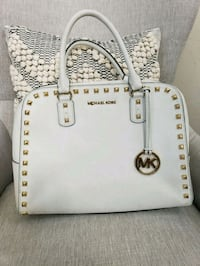 white Michael Kors leather tote bag Fresno, 93730