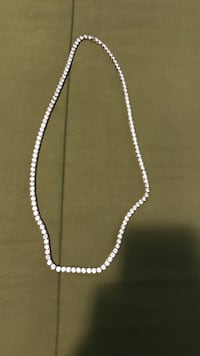 Silver-colored chain necklace Barrie, L4M 7K1