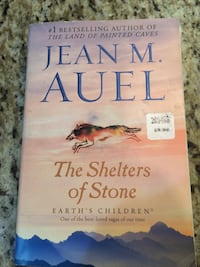 The Shelters of Stone book by Jean M. Auel