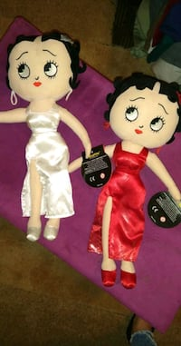 BETTY BOOP COLLECTIBLE PLUSH DOLLS