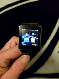 black smartwatch with black strap Edmonton, T6E 4L1