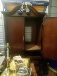 brown wooden cabinet with mirror Reno, 89509
