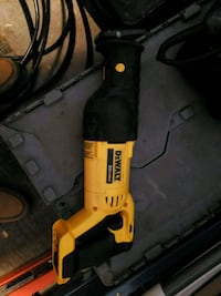 yellow and black Dewalt corded power drill Surrey, V3V 1E1