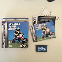 ATV Quad Power Racing for GameBoy Advance GBA!