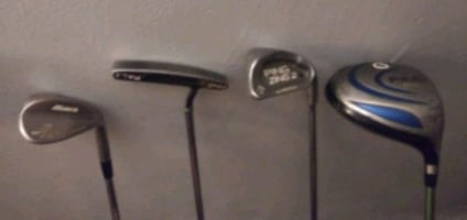 Ping zing SW and karsten putter