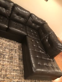 Synthetic leather couch 1 year old  Dalzell, 29040