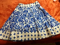 blue and white floral skirt Rocky Comfort, 64861