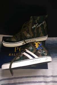 Polo Men's Camo Hi-Top Southampton, 11968