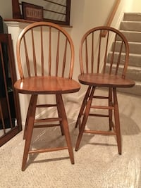 Two countertop stools Millersville, 21108
