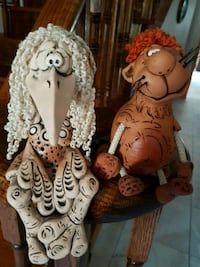 Crazy figurines, the bird with the long nose has been sold Newmarket, L3X 1R1
