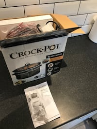black Crock-Pot slow cooker box London, SE1