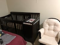 Baby Crib and mattress. convertible crib to queen bed Fairfax, 22031