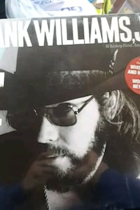 Hank Williams Jr. Whiskey Bent and Hellbound vinyl La Plata, 20646