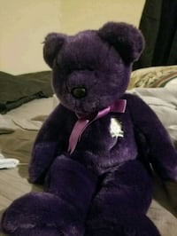 purple and black bear plush toy San Antonio, 78217